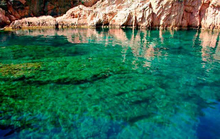 Costa Brava sea