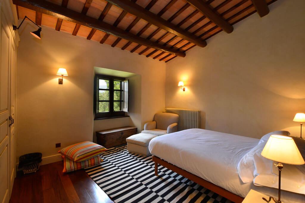 Mas Gall double bedroom