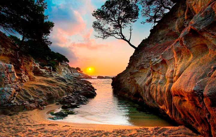 Costa Brava sunset