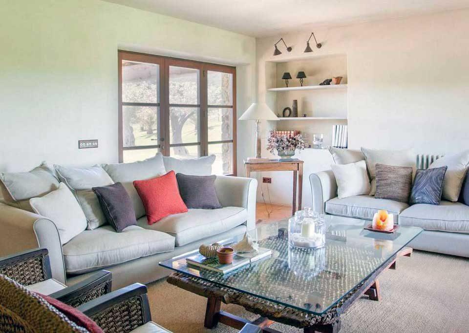 Mas Gall living room
