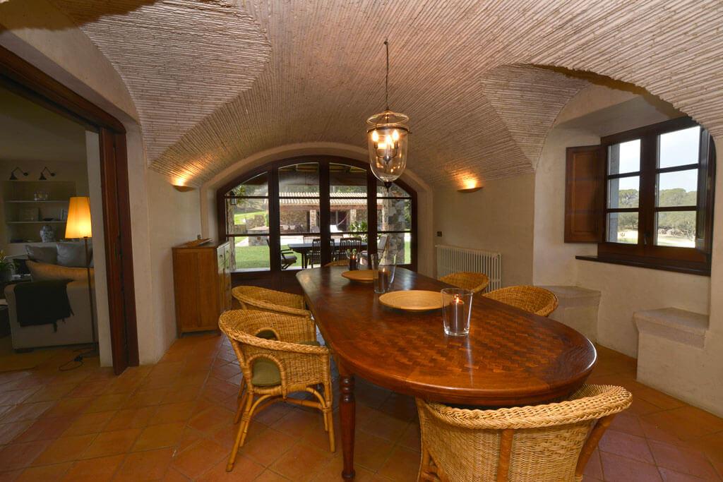 Mas Gall Dinning room